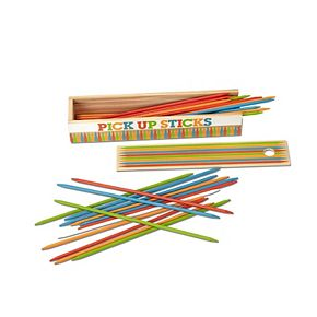 Melissa & Doug Wooden Pick-Up Sticks Tabletop Game