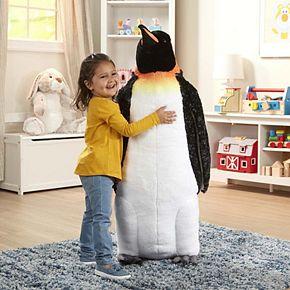 Melissa & Doug Giant Lifelike Plush Emperor Penguin
