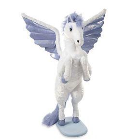 Melissa & Doug Giant Lifelike Plush Winged Pegasus