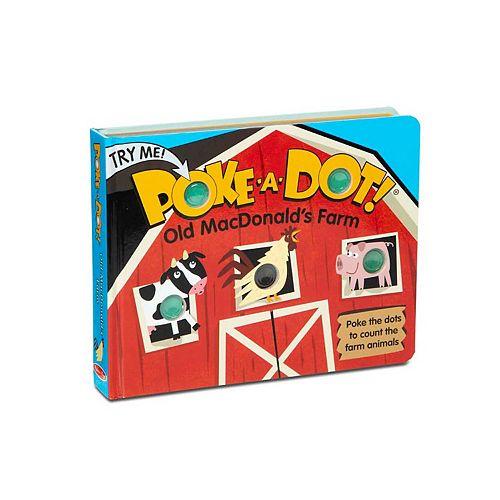 Melissa & Doug Children's Book - Poke-a-Dot: Old MacDonald's Farm