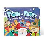 Melissa & Doug Children's Book - Poke-a-Dot:The Night Before Christmas