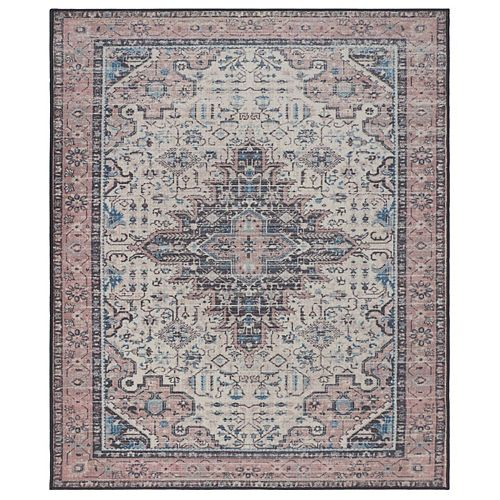 RugSmith Sand Corinth Distressed Vintage Inspired Area Rug