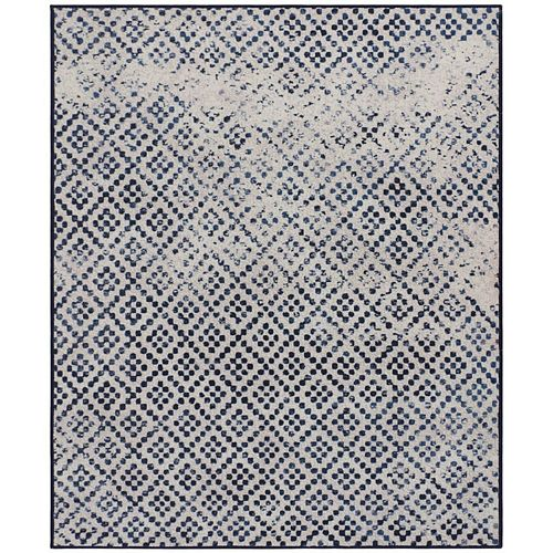 RugSmith Charcoal Durango Distressed Transitional Area Rug