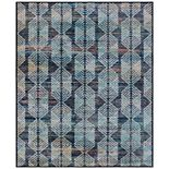RugSmith Multi Malta Distressed Transitional Area Rug