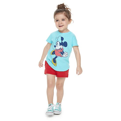 Disney's Minnie Mouse Toddler Girl Classic Graphic Tee by Family Fun™