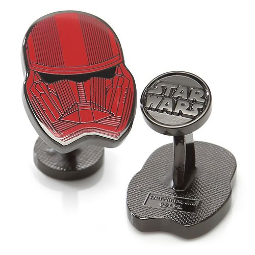 Men's Star Wars The Rise of Skywalker Red Stormtrooper Cuff Links