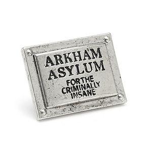 Men's DC Comics Arkham Asylum Lapel Pin