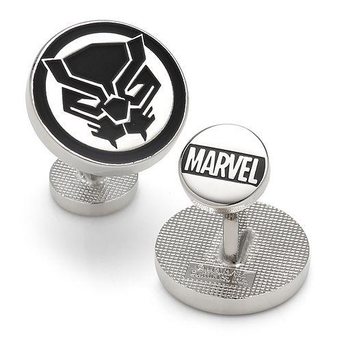 Men's Marvel Comics Black Panther Mask Cuff Links