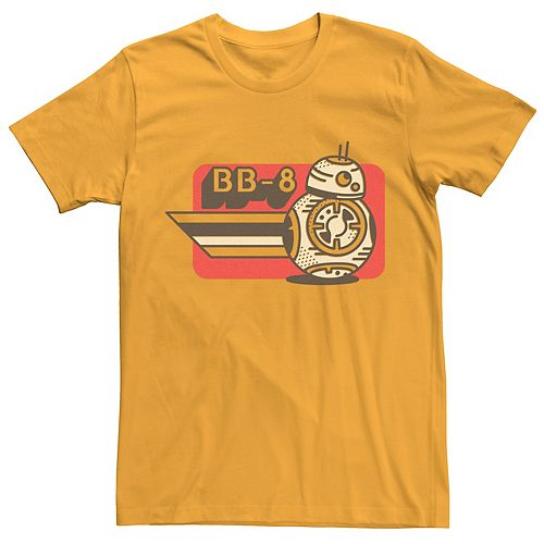 Men's Star Wars The Rise of Skywalker BB-8 on the Run Graphic Tee
