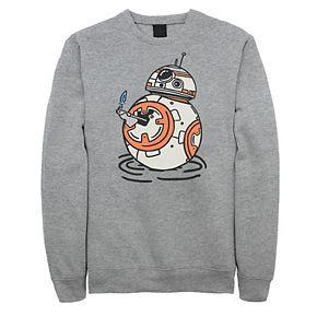 Men's Star Wars The Rise of Skywalker BB-8 Lighter Fleece Graphic Top