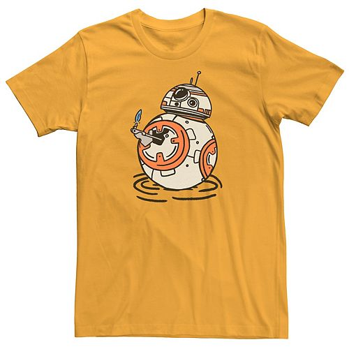 Men's Star Wars The Rise of Skywalker BB-8 Lighter Graphic Tee