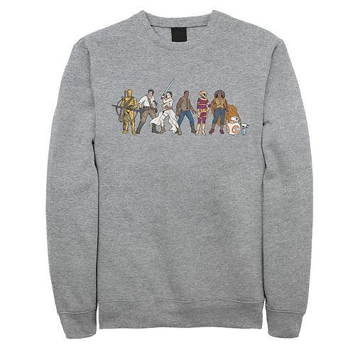 Men's Star Wars The Rise of Skywalker Rebel Line Sweatshirt