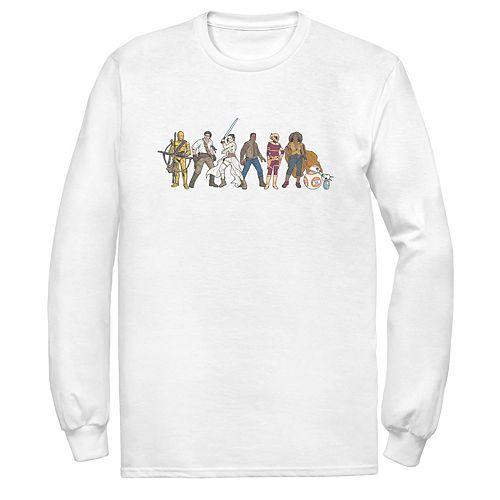 Men's Star Wars The Rise of Skywalker Rebel Line Tee