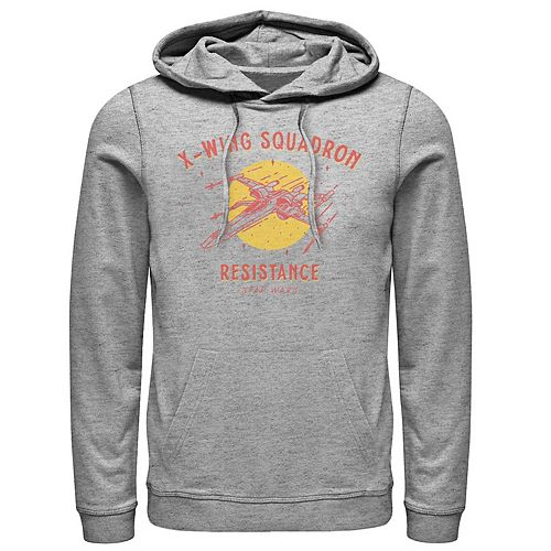 Men's Star Wars The Rise of Skywalker X-Wing Squadron Pullover Hoodie
