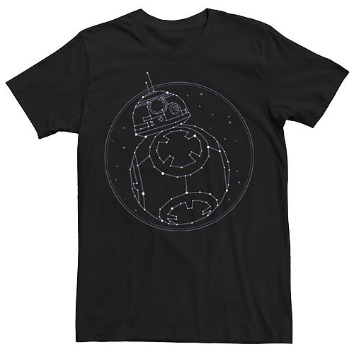 Men's Star Wars The Rise of Skywalker BB-8 Constellation Tee