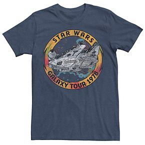 Men's Star Wars The Rise of Skywalker Vintage Galaxy Tour Tee