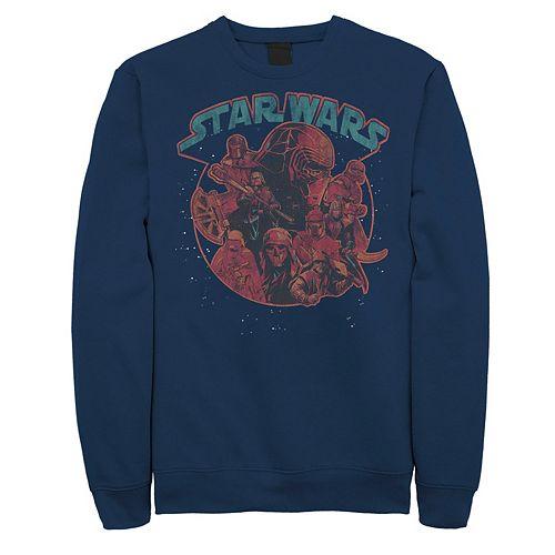 Men's Star Wars The Rise of Skywalker Dark Side Stars Sweatshirt