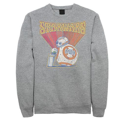 Men's Star Wars The Rise of Skywalker Groovy Droid Duo Sweatshirt