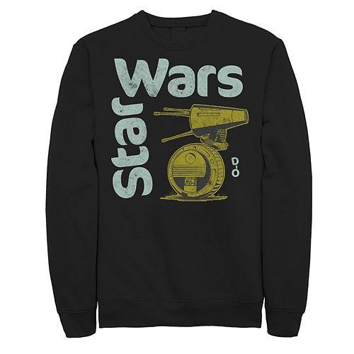 Men's Star Wars The Rise of Skywalker D-0 Roll Sweatshirt