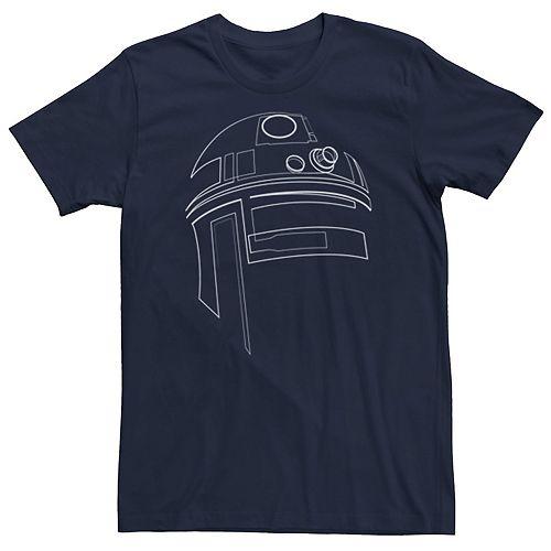 Men's Star Wars R2-D2 Outline Tee