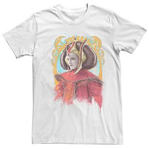 Men's Star Wars Padme Amidala Regal Portrait Graphic Tee