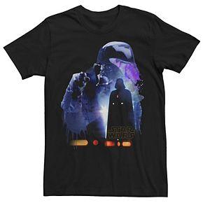 Men's Star Wars Darth Vader Shadow Silhouette Graphic Tee