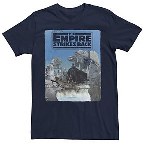Men's Star Wars The Empire Strikes Back Poster Graphic Tee