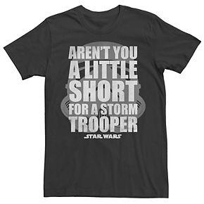Men's Star Wars Aren't You A Little Short For A Stormtrooper Tee