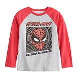 Boys 4-12 Jumping Beans® Marvel Spider-Man Raglan Tee