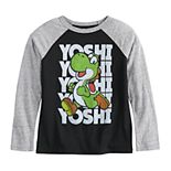 Boys 4-12 Jumping Beans® Yoshi Raglan Tee