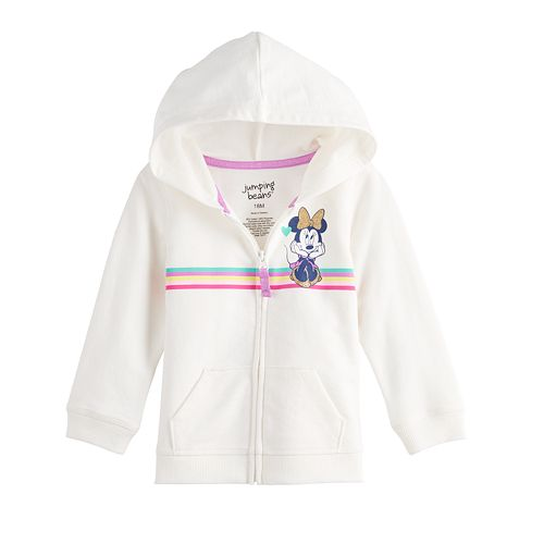 Disney's Minnie Mouse Baby Girl French Terry Hoodie by Jumping Beans®
