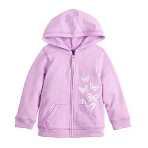 Baby Girl Jumping Beans® French Terry Hoodie