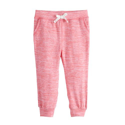 Baby Girl Jumping Beans® Snit Joggers