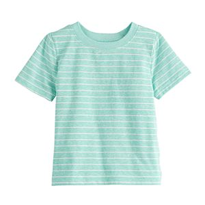 Aqua Tee Jumping Beans Boys 3 Pack Tees Aqua Stripe Tee Grey Stripe Tee