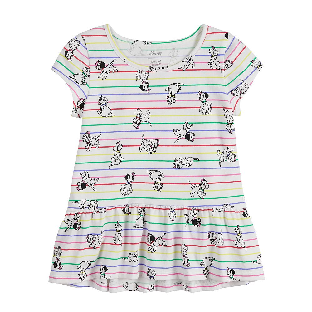 Disney's 101 Dalmatians Toddler Girl Peplum-Hem Top by Jumping Beans®