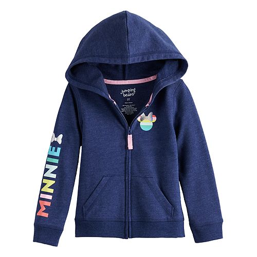 Disney's Minnie Mouse Toddler Girl French Terry Hoodie by Jumping Beans®