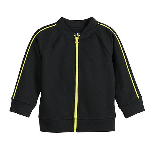 Baby Boy Jumping Beans® Piped Track Jacket