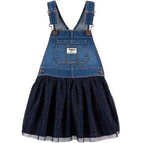 Toddler Girl OshKosh B'gosh® Tulle Denim Jumper
