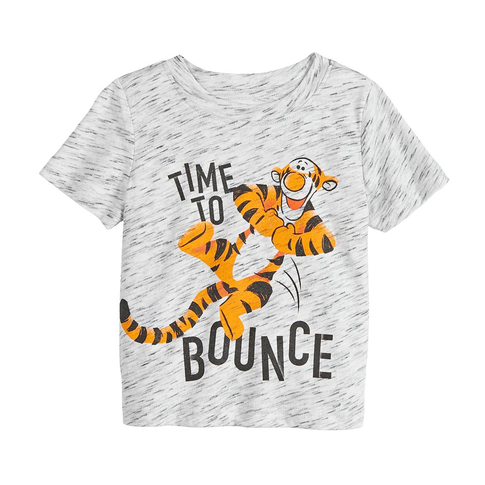 "Disney's Tigger Baby Boy ""Time To Bounce"" Graphic Tee by Jumping Beans®"