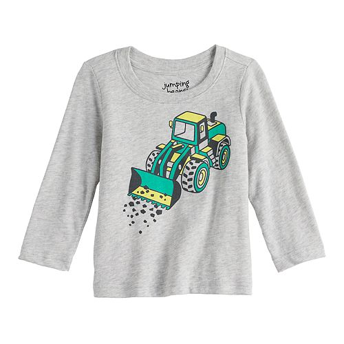 Baby Boy Jumping Beans® Construction Graphic Tee