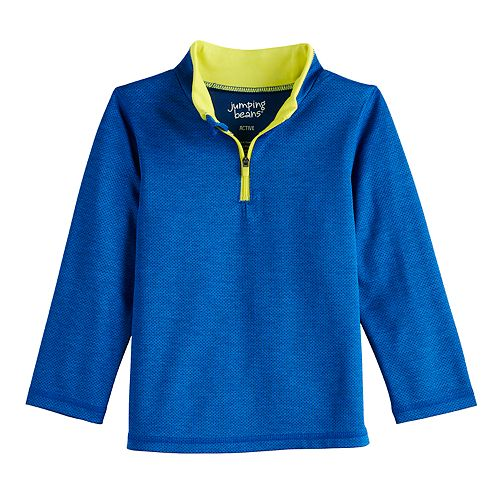 Toddler Boy Jumping Beans® Active Quarter Zip Pullover Top