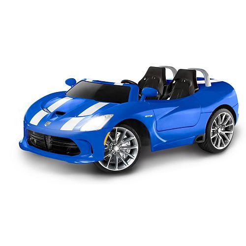 Kid Trax Dodge Viper SRT 12-Volt Ride-On Car