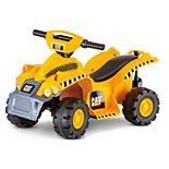 Kid Trax Caterpillar 6-Volt Toddler Quad Ride-On Vehicle