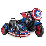 Kid Trax Captain America 12-Volt Motorcycle