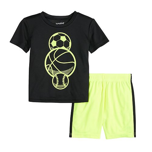 Toddler Boy Jumping Beans® Active Tee & Shorts Set