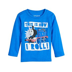 "Toddler Boy Jumping Beans® Thomas the Train ""This Is How I Roll!"" Graphic Tee"