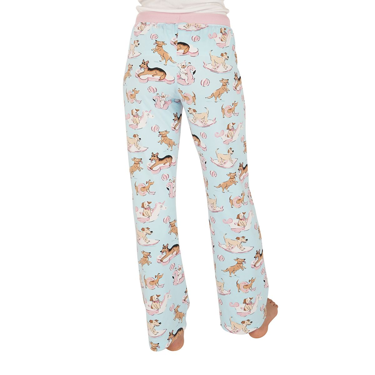 Women's Nite Nite by Munki Munki Soft Pajama Pants Coffee Cups ASOSa
