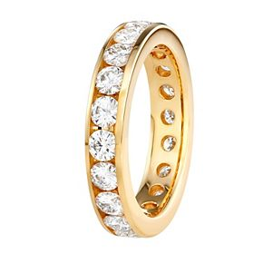 Charles & Colvard 14k Gold 2 Carat T.W. Lab-Created Moissanite Eternity Band