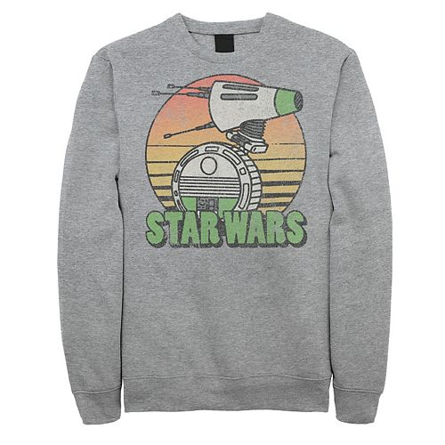 Men's Star Wars The Rise of Skywalker Retro D-0 Sunset Fleece