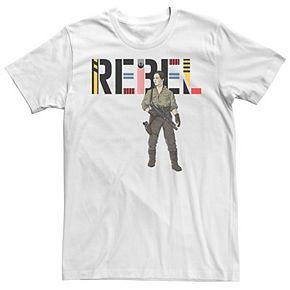 Men's Star Wars The Rise of Skywalker Rebel Rose Tee